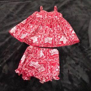 Toddler Reyn Spooner 2 piece set 12 months